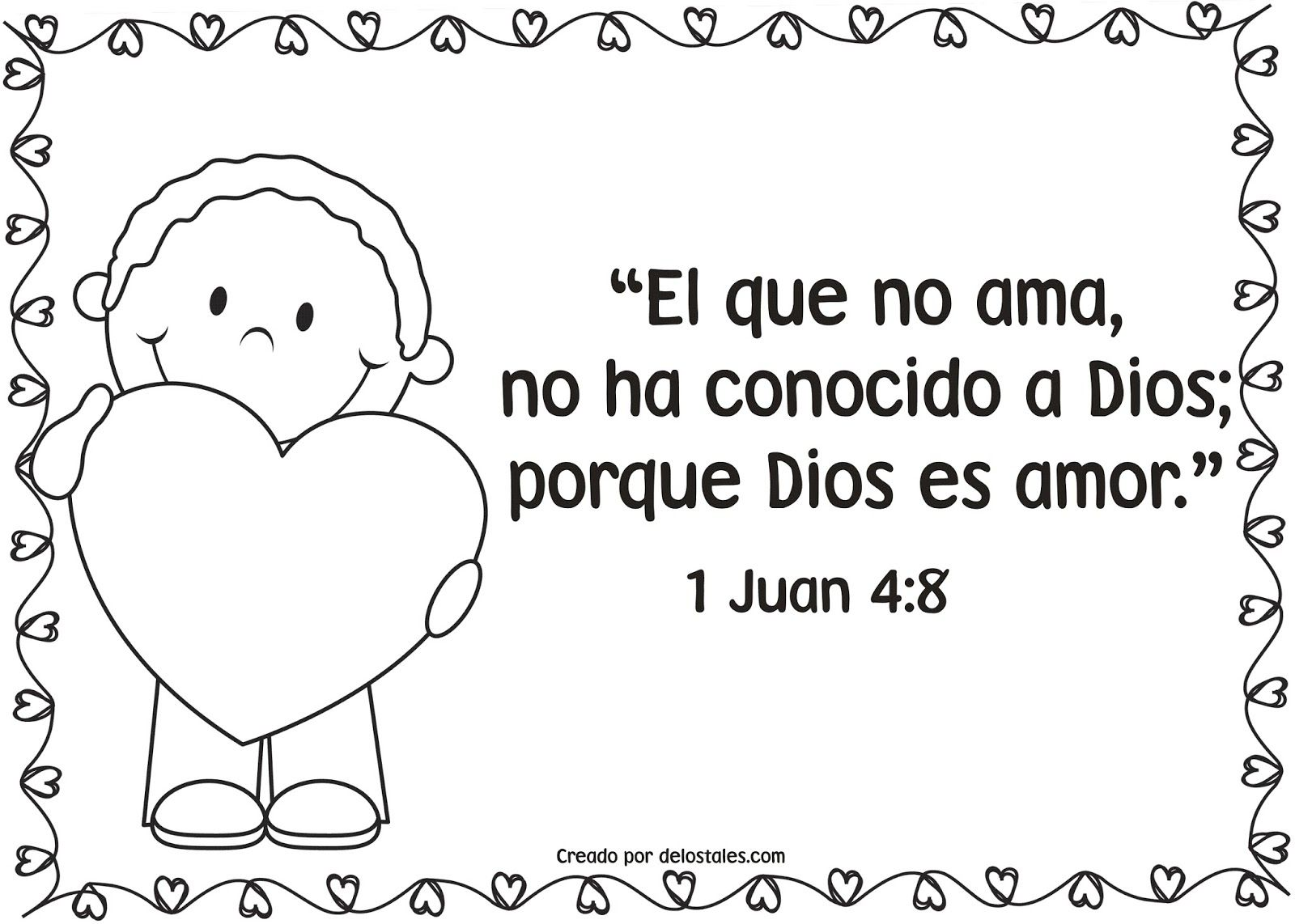 recursos cristianos, material para escuela dominical, amor de Dios ...
