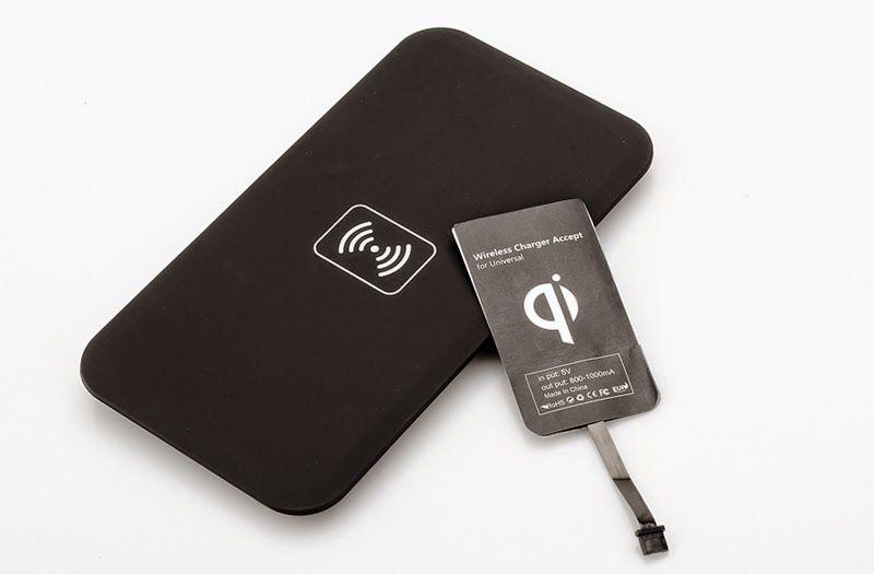 Universal Qi transmissor sem fio de carregamento Fios
