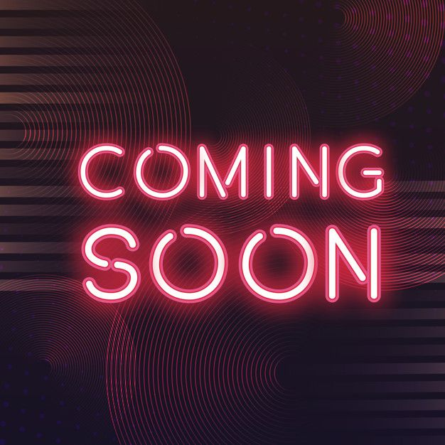 Download Red Coming Soon Neon Icon Vector for free in 2020 ...