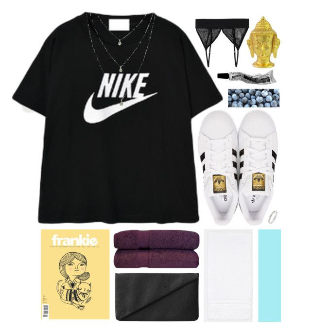 """Take my hand trough the flames"" by hejehejhejehejje ❤ liked on Polyvore featuring Sara Weinstock, NIKE, Monki, adidas Originals, NOVICA and Diane Von Furstenberg"