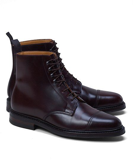11f93bc41a6 Cordovan Boot - Brooks Brothers ... wish list. I think Peal   Co by BB is  actually made by Crockett   Jones