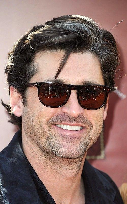 Pour une fois, on ne parlera pas de Patrick Dempsey pour sa chevelure  parfaite, mais bien pour ses lunettes ! Superbe paire de Persol couleur  Havana df18348efa44