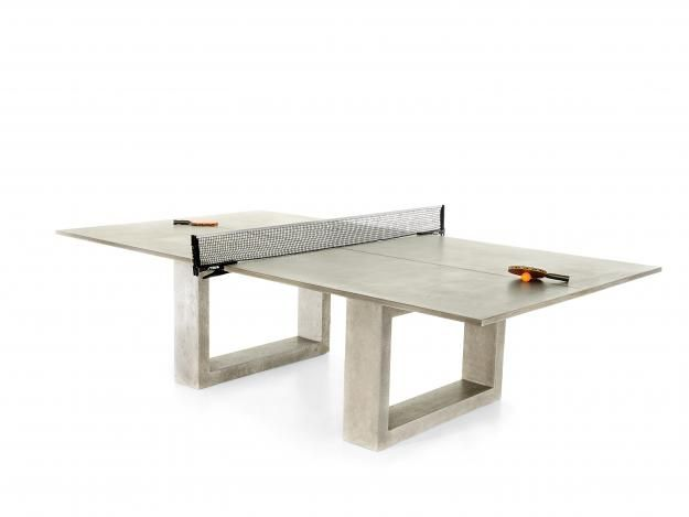 Posh Ping Pong Garden Design Dining Table Outdoor Ping Pong