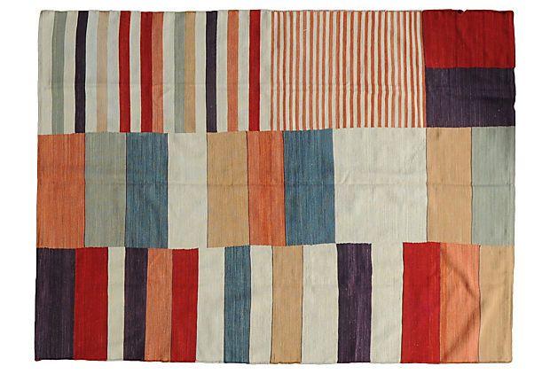 56x75 Thierry Kilim, Multi on OneKingsLane.com