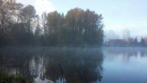 Early mornig at Lafarge Lake