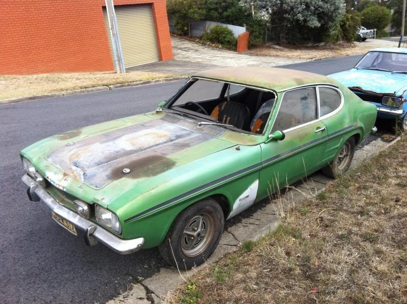 V6 Gt Capri Ford Capri Scrap Car Abandoned Cars
