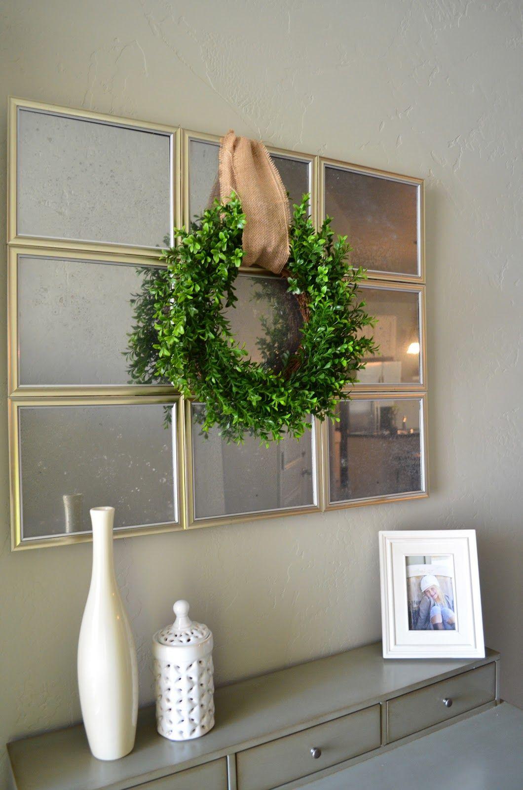 Diy mirror Dollar store decor, Dollar tree decor, Dollar