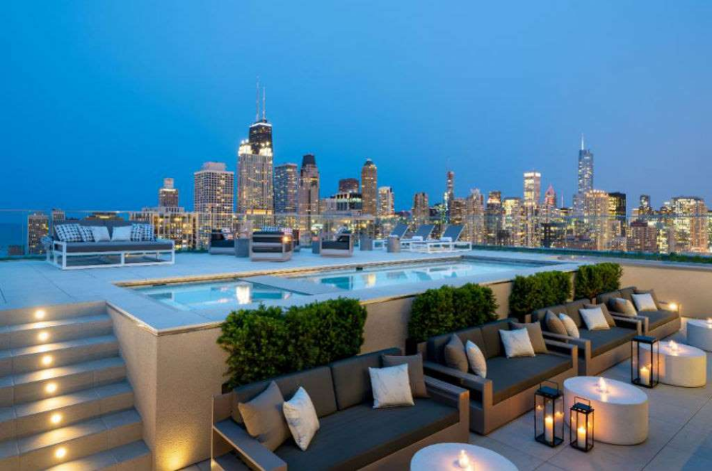 Pin By Virtual Fashion On Home Penthouse Outdoor Pool Chicago