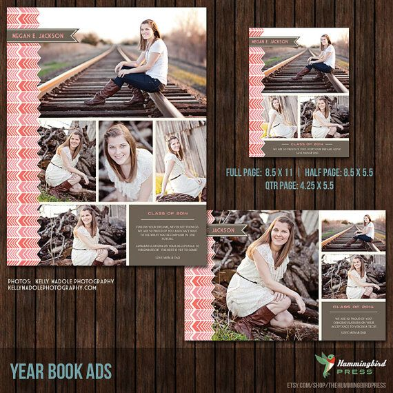 senior yearbook ad photoshop templates graduation ad high school college middle school. Black Bedroom Furniture Sets. Home Design Ideas