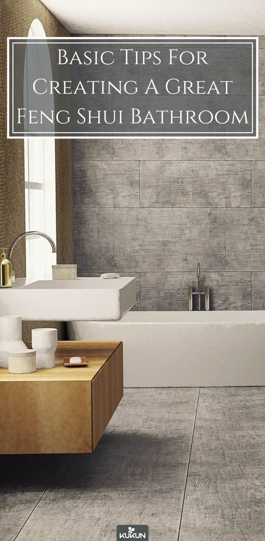 Basic Tips For Creating A Great Feng Shui Bathroom Decoracion De