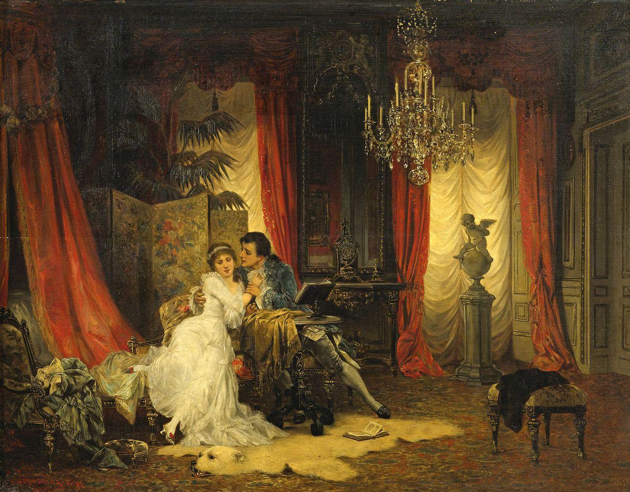 """ ♥ ""Innamorati"" - Carl Schweninger - 1854/1903 - Áustria. """