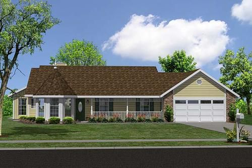 G34043 Home For Today At Menards House Plans Dream House Plans Building Plans