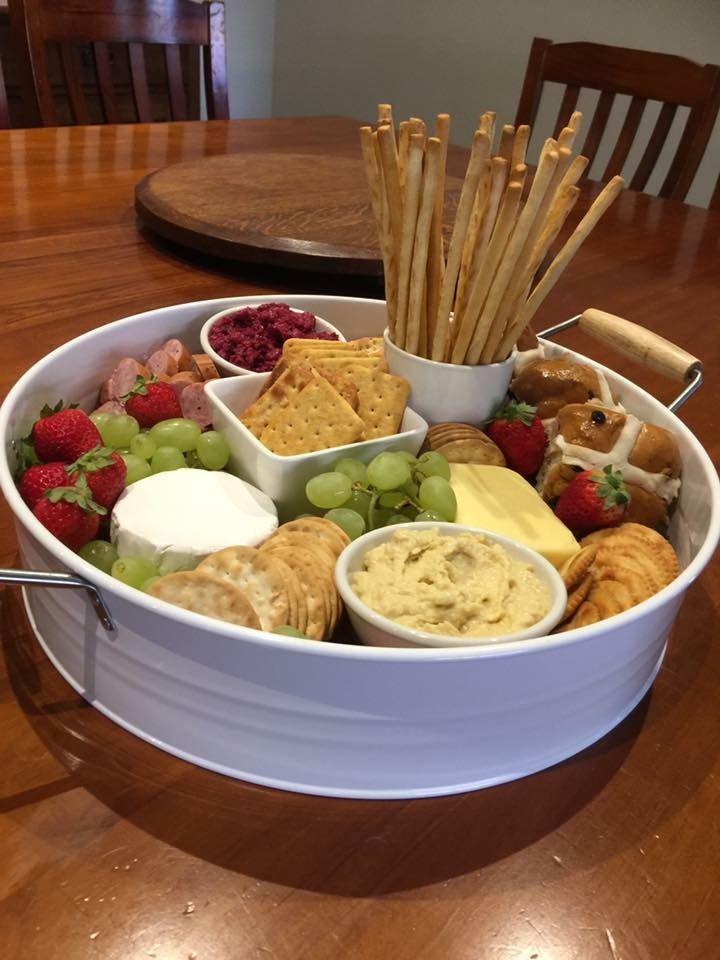 kmart tin great serving platter antipasto cheese board ideas pinterest essen. Black Bedroom Furniture Sets. Home Design Ideas