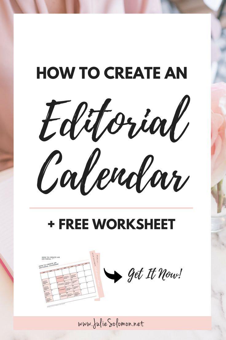 Social Media Editorial Calendar Template  How To Create  Solomon