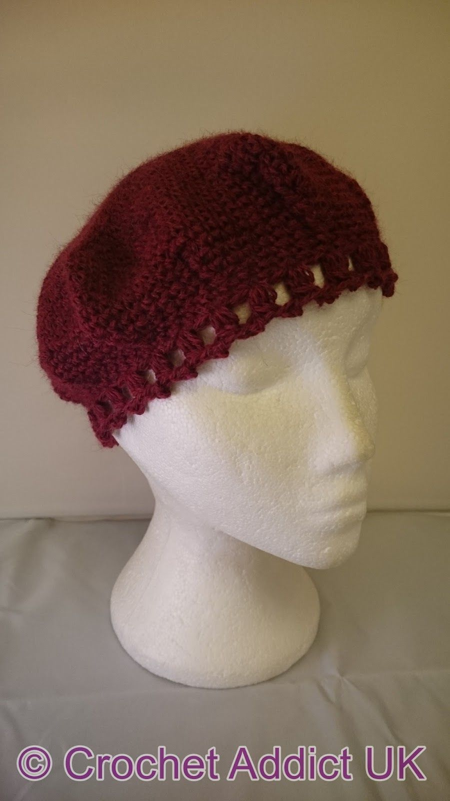 Inspired By A Kiss Beret ~ Free Crochet Pattern & Yarn Review ...