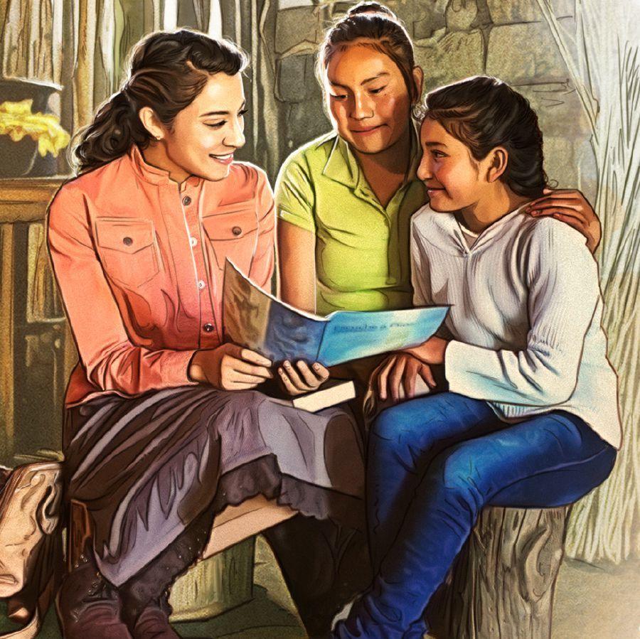 Uma Irma Pregando Com Imagens Testemunhas De Jeova Biblioteca