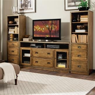 Riverside 16141 Falls Creek TV Console And Piers Discount Furniture At  Hickory Park Furniture Galleries