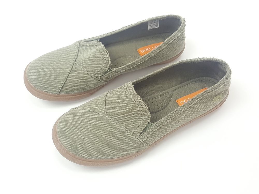 Rocket Dog Flats Womens Size 8.5 Olive Green Canvas Slip-On Distressed NWOT   RocketDog  WrenFlats  flats  canvasflats  casualshoes  casualstyle ... e728bdeb4dde7