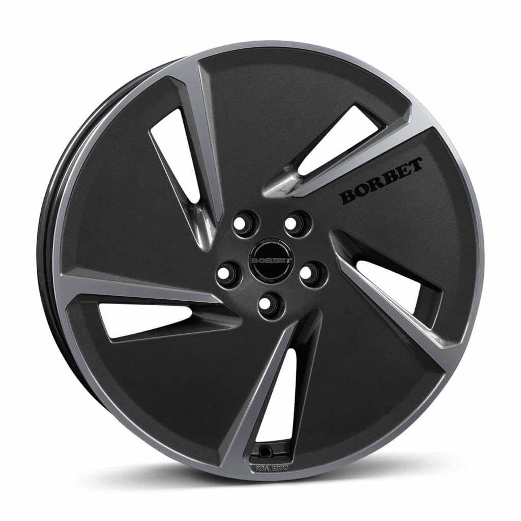Borbet Ae Anthracite Gloss Polished 20 Alloy Wheel Wheel Alloy