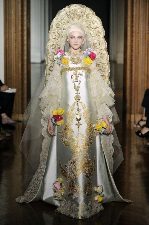 Christian Lacroix Russian Inspired Wedding Dress   Russian ...
