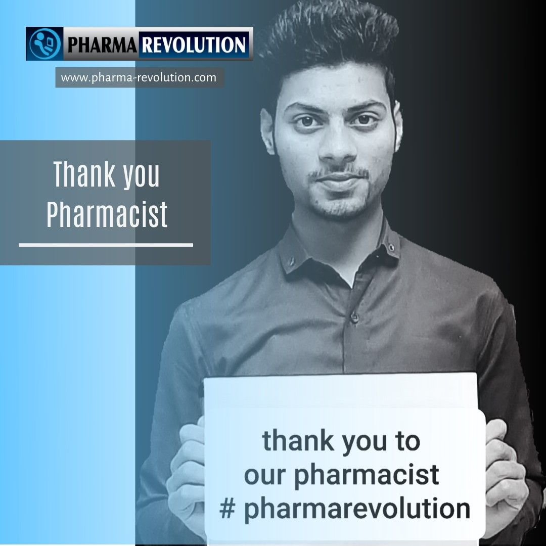 Thank you Pharmacist in 2020 Regulatory affairs