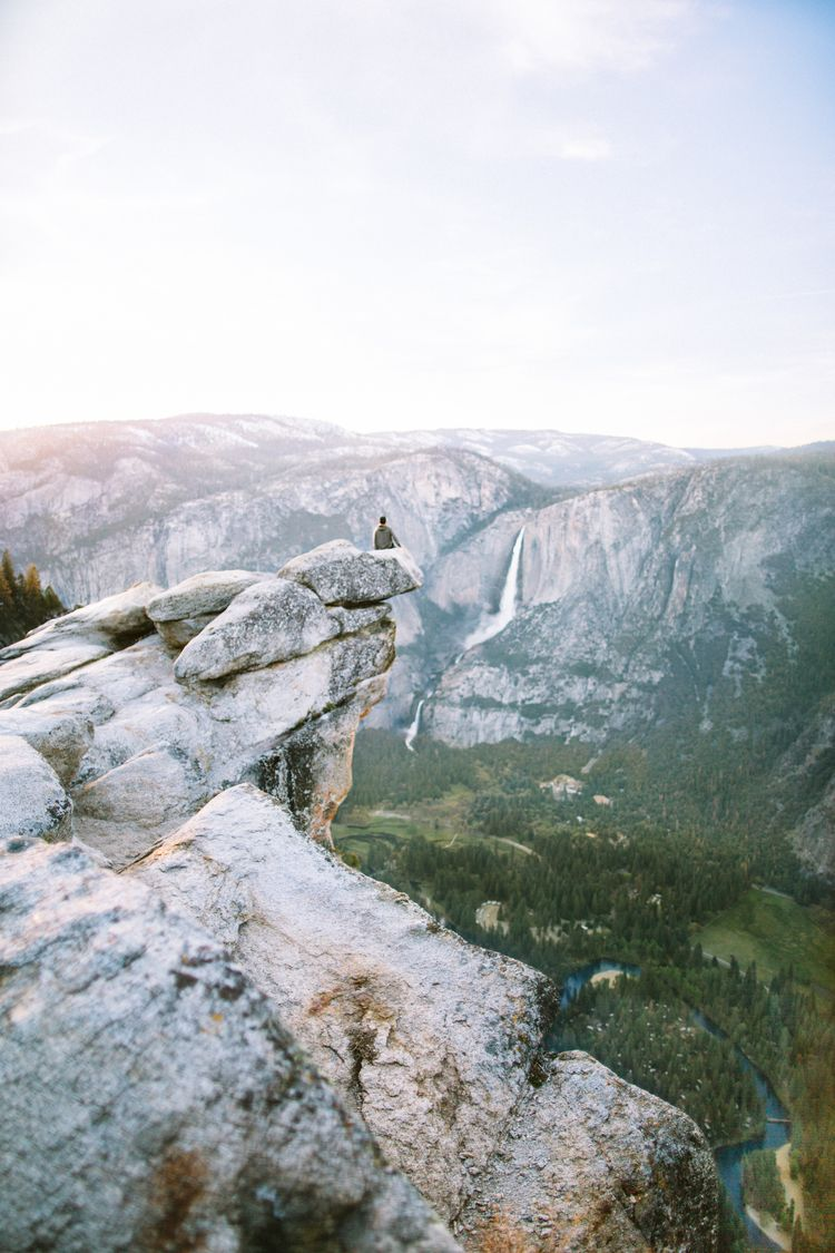 Glacier Point Yosemite National Park Park And Wanderlust