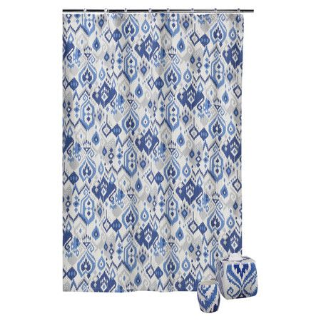 """Dawson Shower Curtain  Looking for something like this but 84"""" long or longer!"""