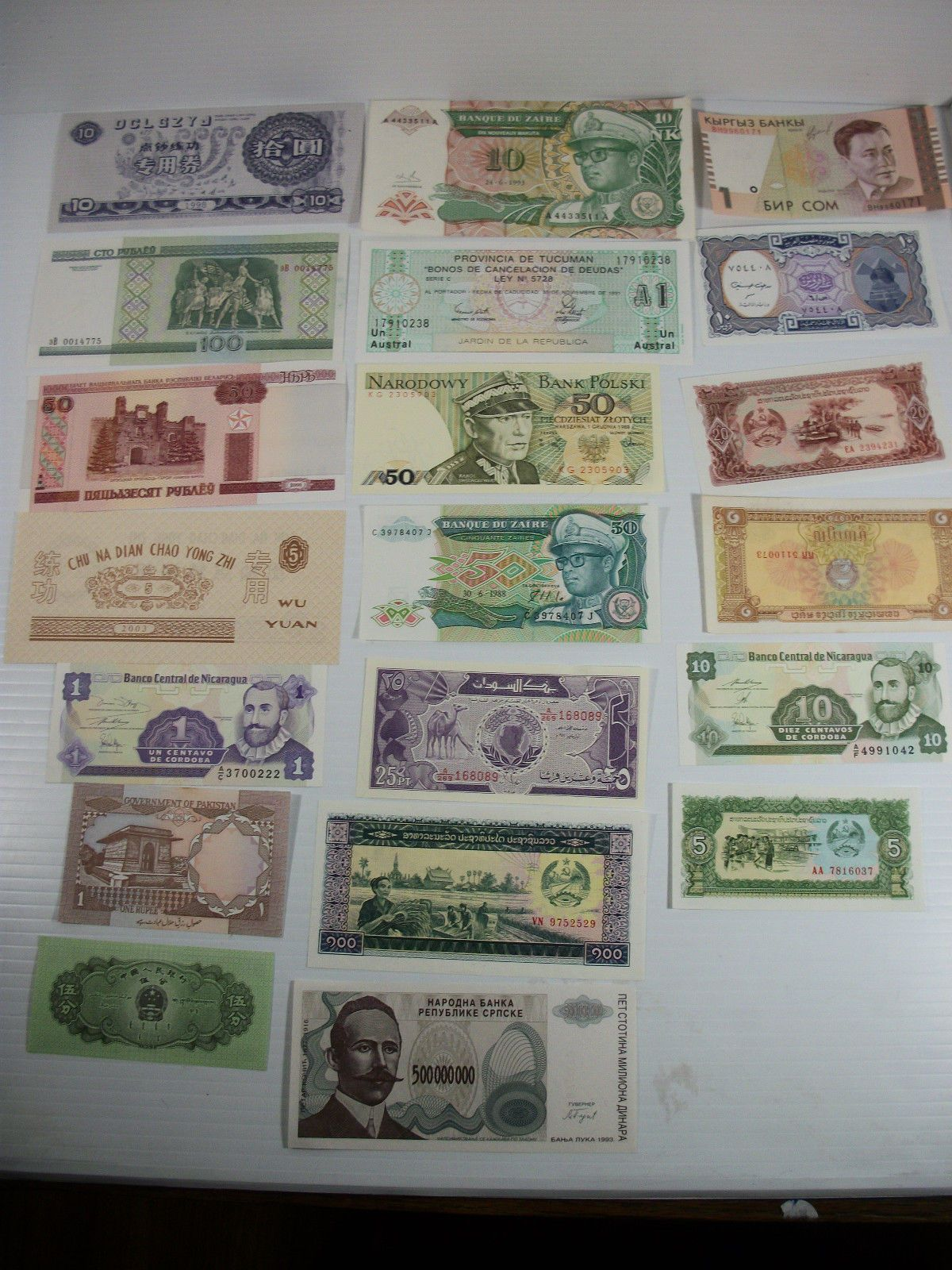 50 World Foreign Coins /& 50 Different World MINT  Banknotes,Free Shipping To U.S