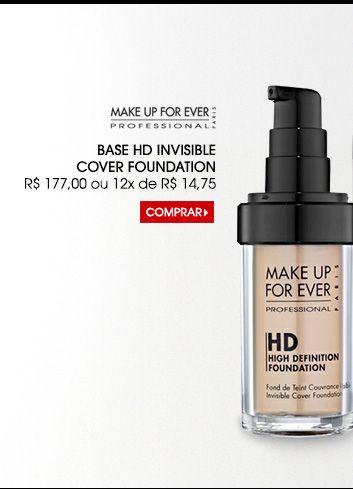 Base HD Make Up For Ever (nº 118, 127 ou 128)