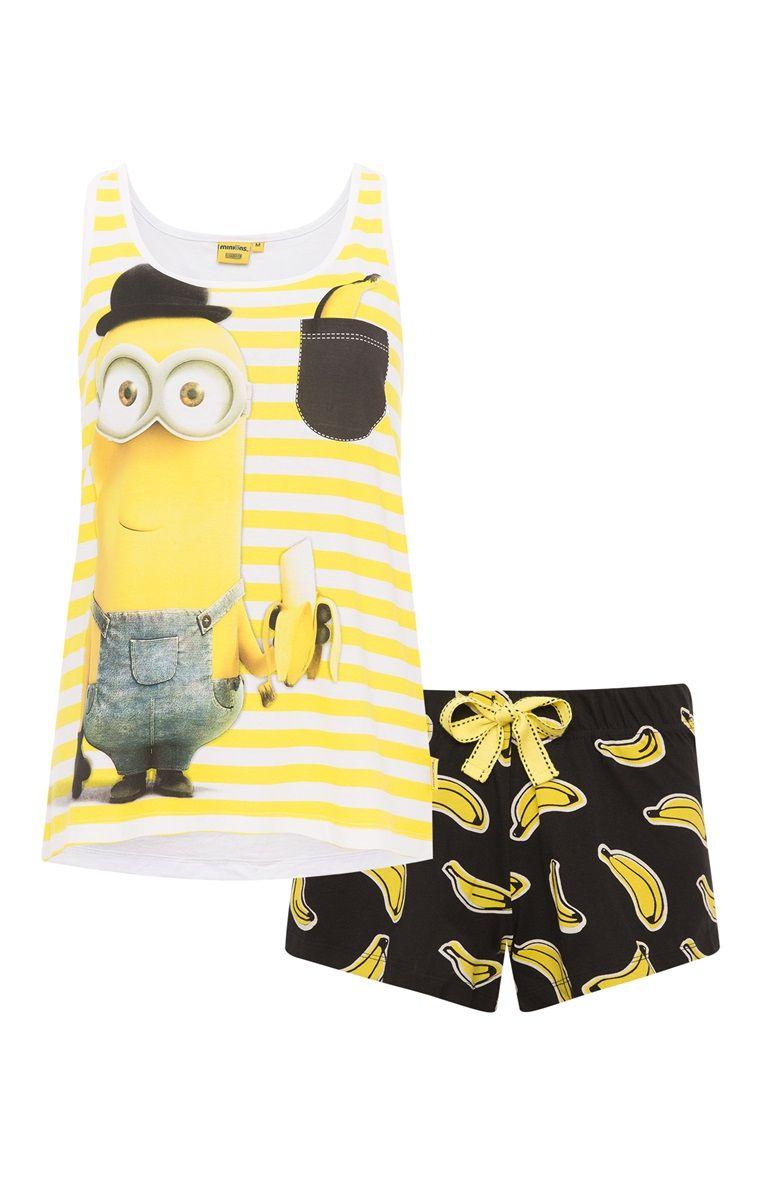 8e9881a6b8 Primark - Pijama de verano Minions