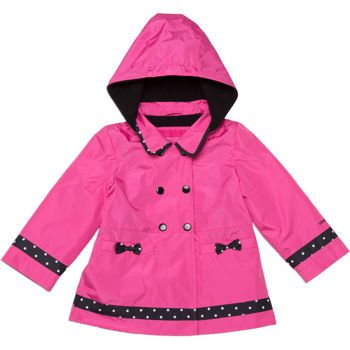 2a89bc81f Costco  London Fog Girls  Fleece Lined Jacket-Pink
