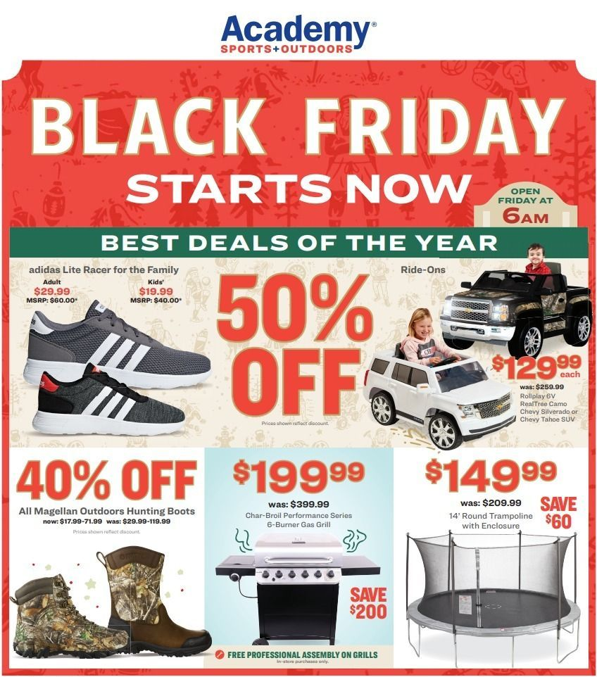 Academy Sports Outdoors Black Friday 2020 In 2020 Black Friday Black Friday Hours Black Friday Ads