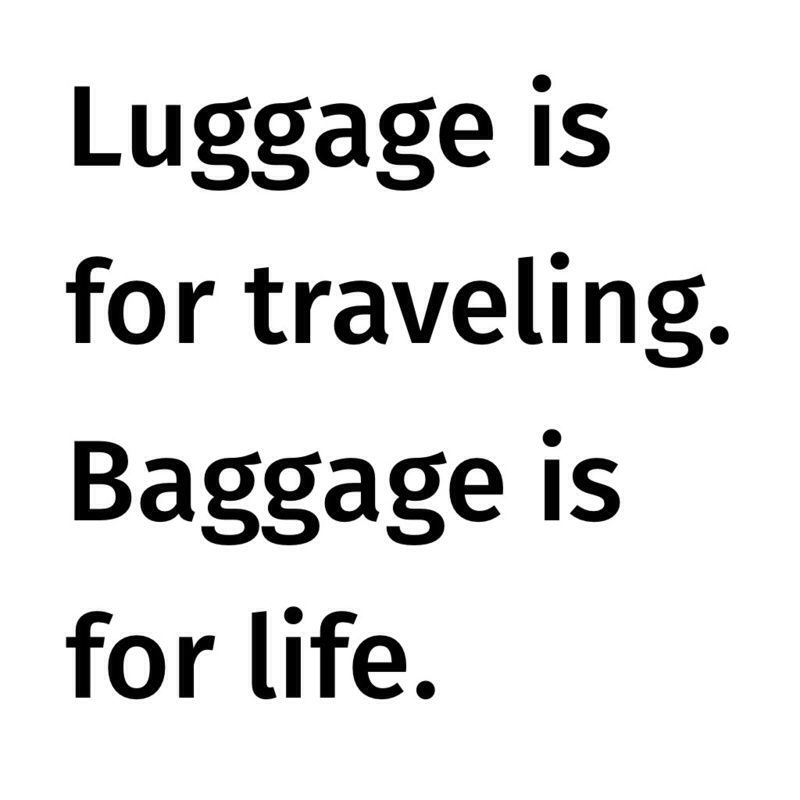 Baggage fee