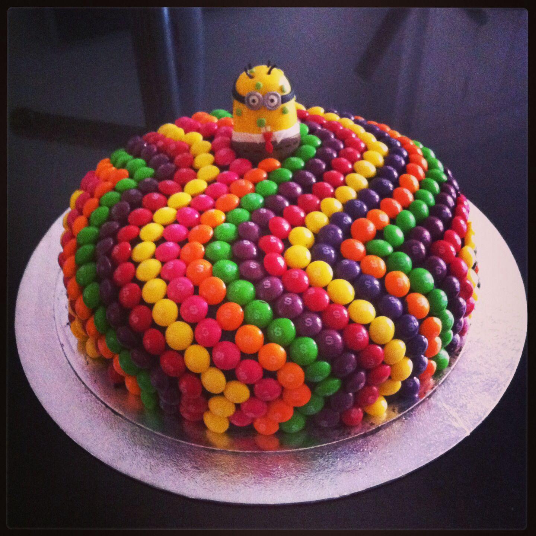 Skittles Cake Recipe