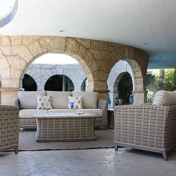 Catalina Collection Patio Outdoor Wicker Patio