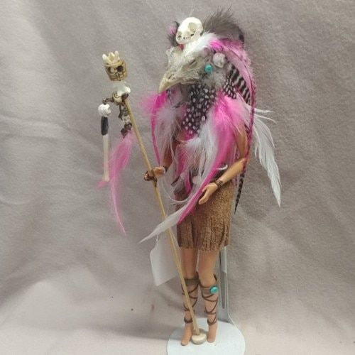 Pink Warrior Shaman Chickenhead Goddess | Las Vegas Oddities