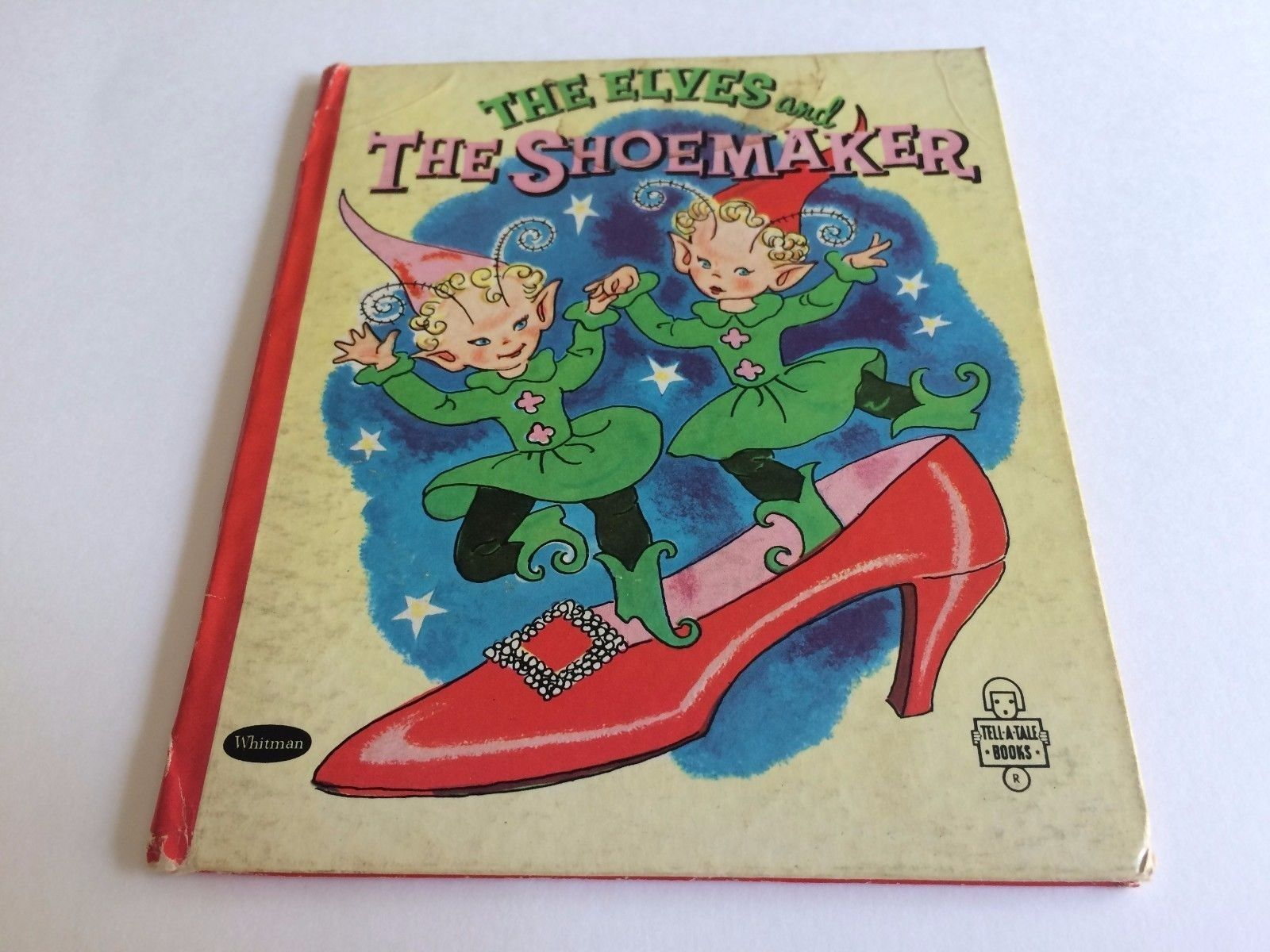The Elves And The Shoemaker Vintage Book Whitman Tell