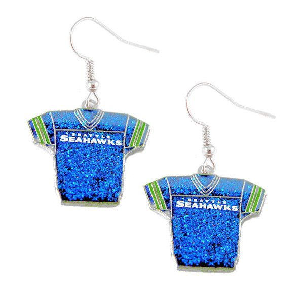 """Officially licensed NFL earrings! Approximately 3/4"""" in width! Perfect collectible for any sports fan! Show off your team spirit by wearing these awesome jersey"""