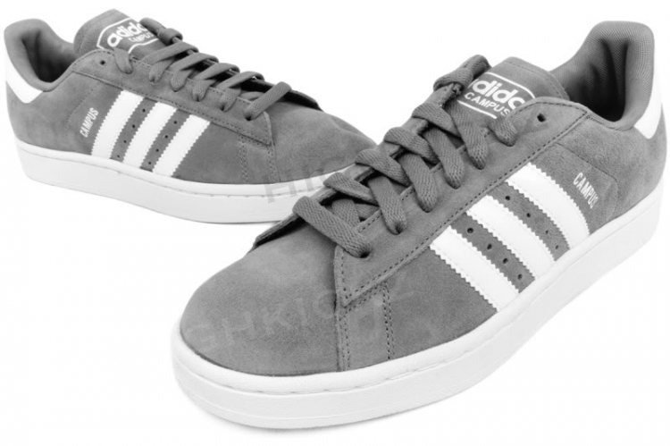 b2d6cf2650b4 ADIDAS Campus II G06027 Grey   White Designed for basketball ...