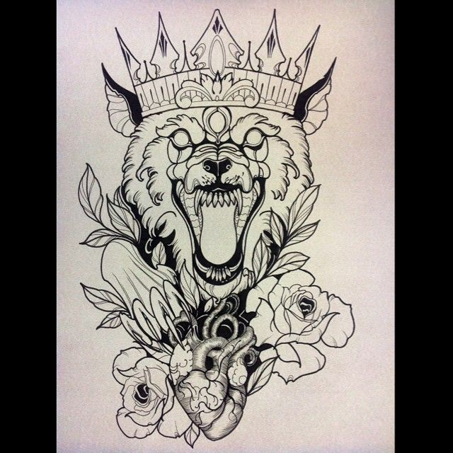 Wolf Line Drawing Tattoo : Chest tattoo wolf buscar con google pinterest