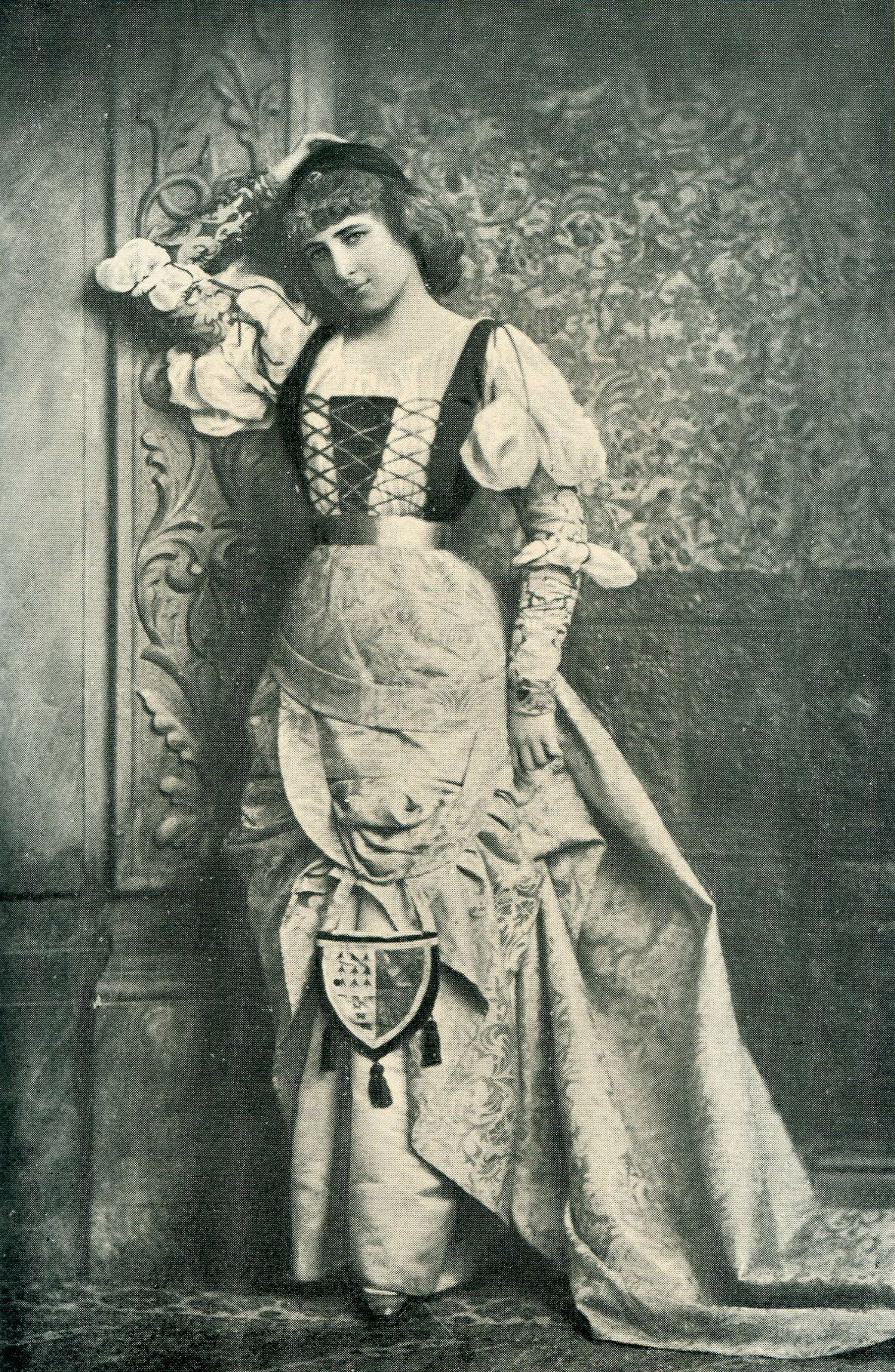 Lillie Langtry as Juliet - photo by Lafayette