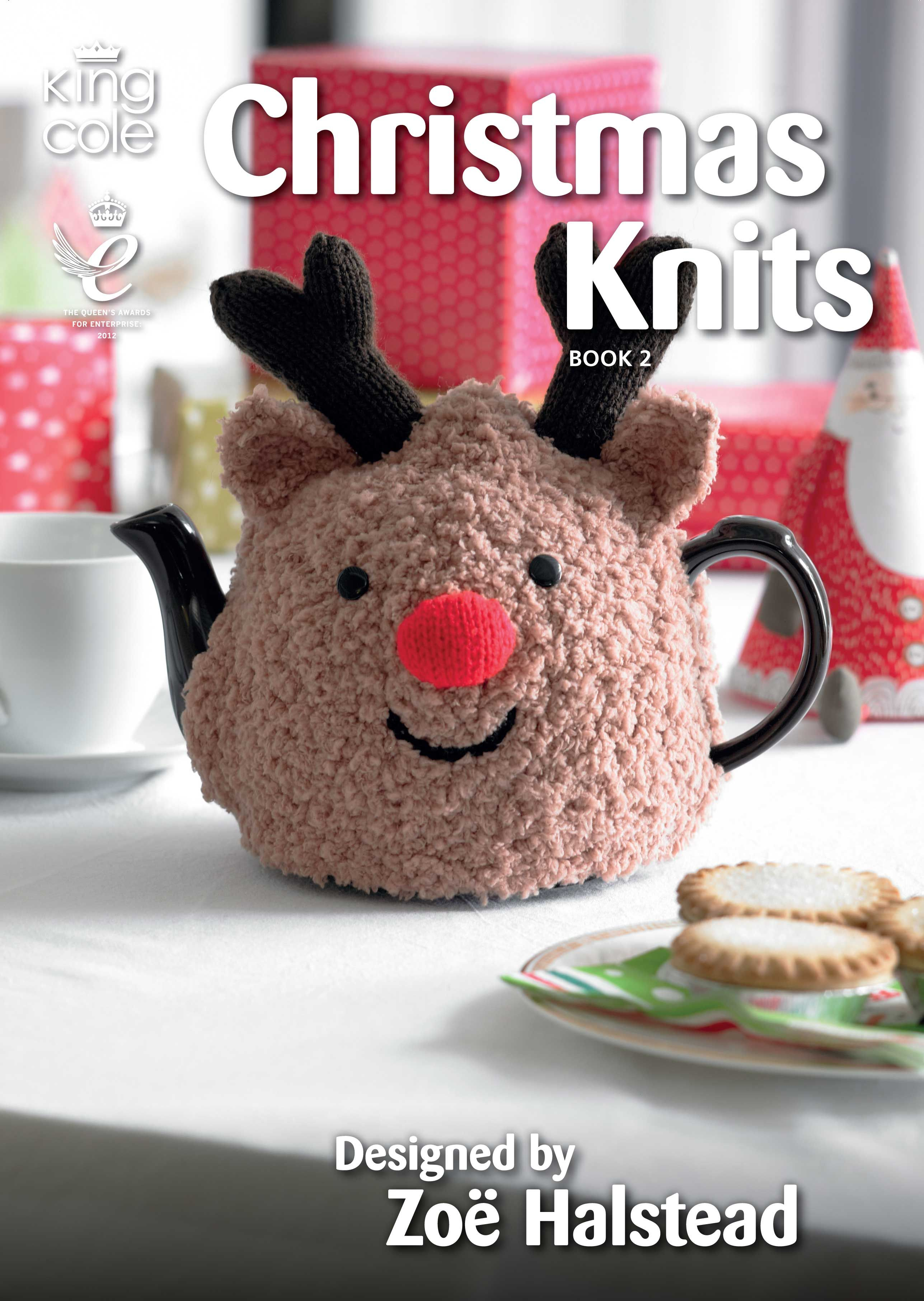 Knitted rudolph tea cosy one of the many fabulous knits in knitted rudolph tea cosy one of the many fabulous knits in christmas knits book 2 bankloansurffo Choice Image