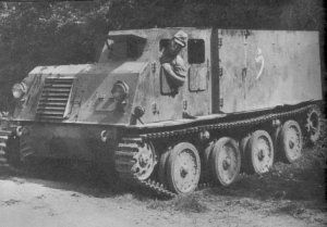 Ho-Ki is the tracked personnel carrier. It was deployed in tank divisions and saw action in China and Philippines in the late WWII.