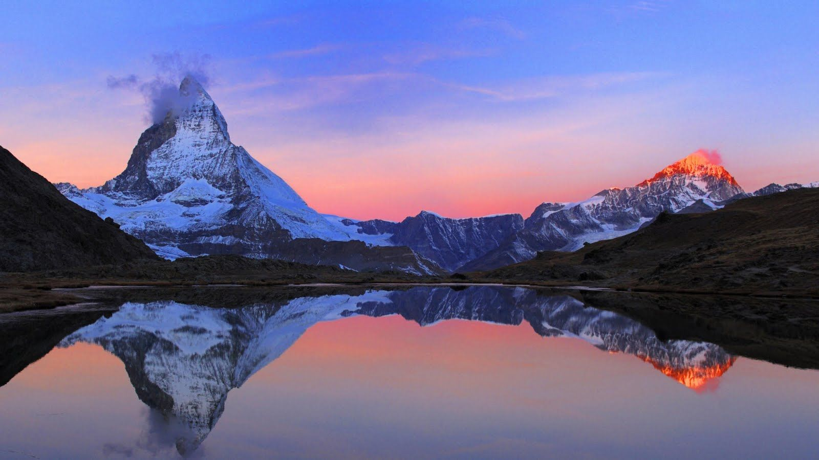 Beautiful Cold Landscapes Full Hd Wallpapers Matterhorn Switzerland Matterhorn Switzerland Photography