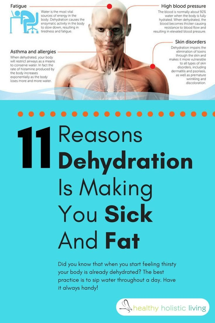 Can dehydration make you feel nauseous