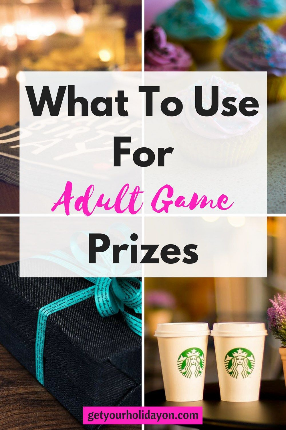adult birthday favors games
