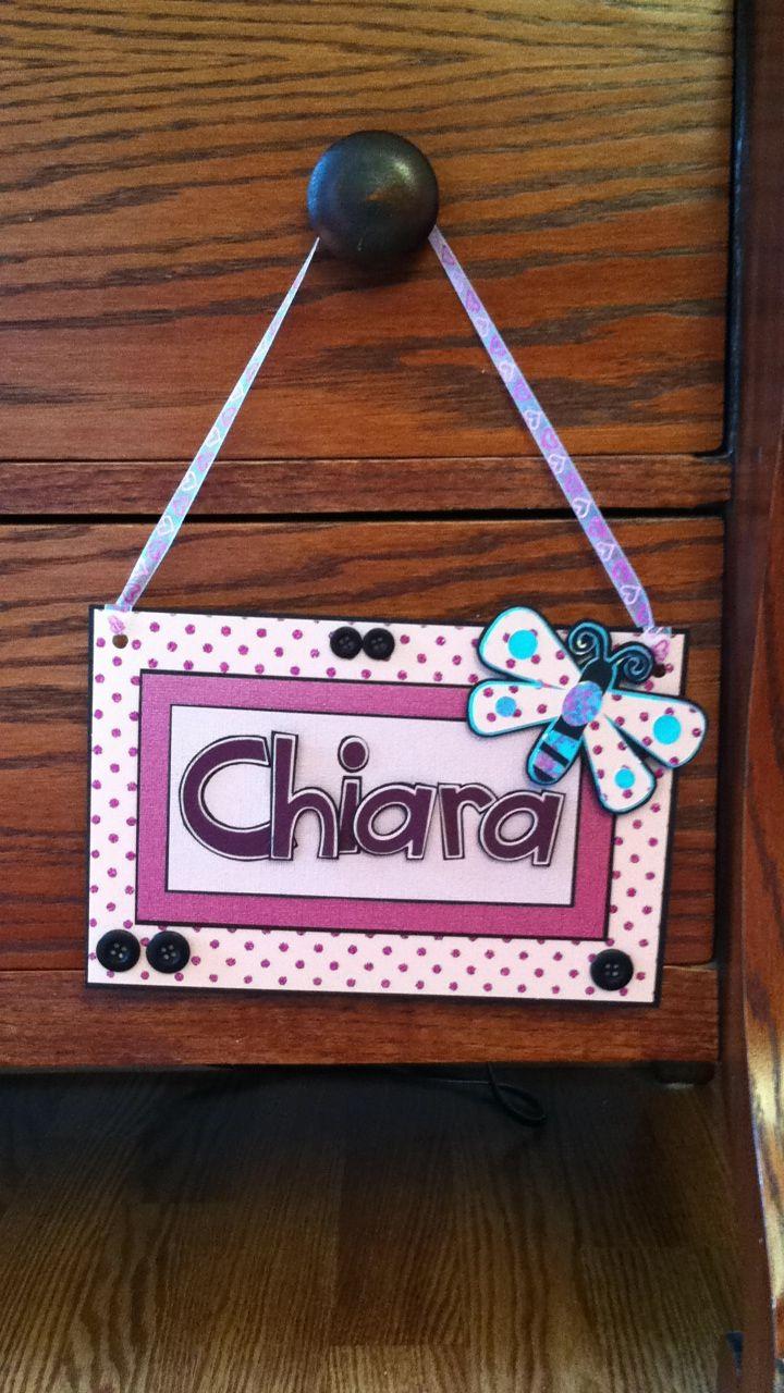 Door Name Tag Crafts Door Name Tags Crafty
