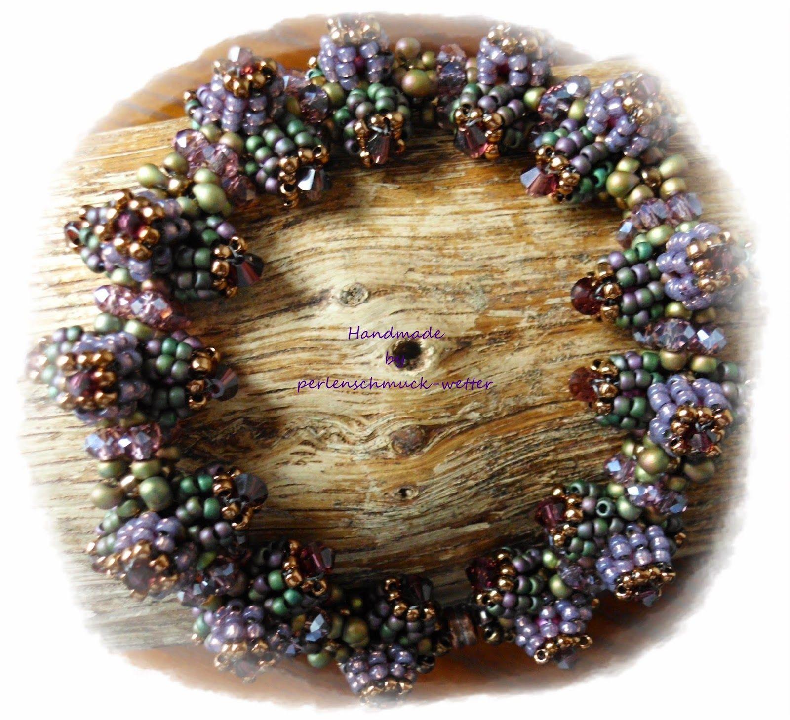 Perlenschmuck-Wetter: Armbänder - Spike CRAW Bracelet - Design von Riana Olckers