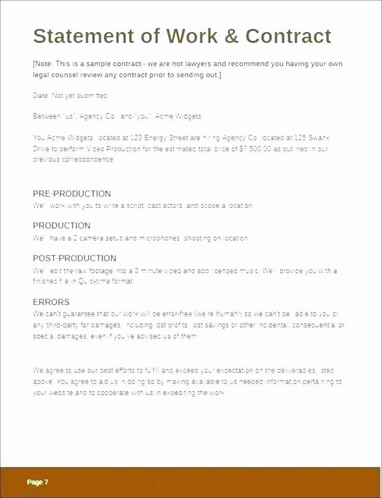 Music Producer Contract Template Luxury Contract Template Free Elegant Video Production Lovely Co Contract Template Newspaper Template Word Templates