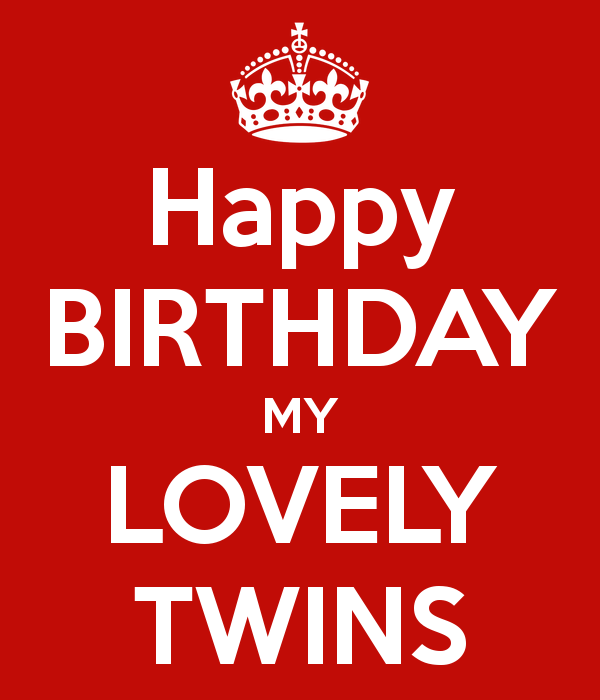 Twin birthday quote happy birthday my lovely twins recipes to twin birthday quote happy birthday my lovely twins m4hsunfo Choice Image